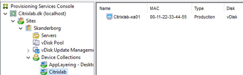 Citrix PVS and PowerShell